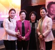 中国饭店协会会长韩明与创绿詹总参加第二届铁板烧高峰论坛