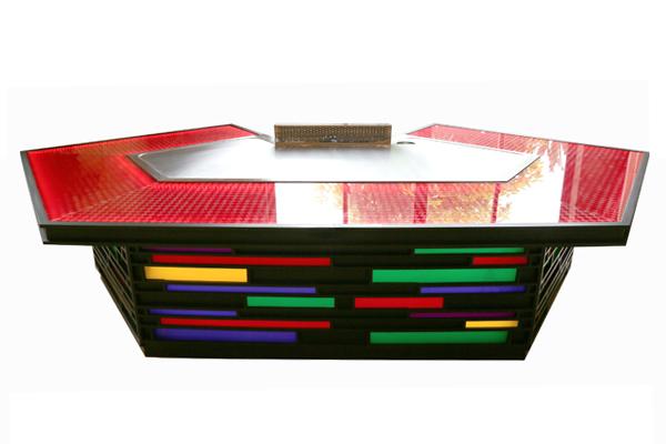 马蹄形彩虹铁板烧设备