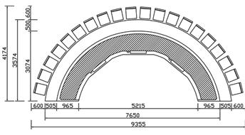 定制铁板烧CAD规格图